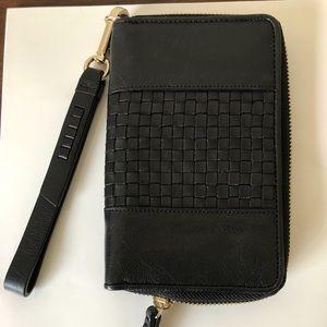 Like new Cole Haan wristlet wallet